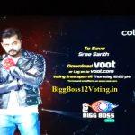sreesanth bigg boss 12 voting