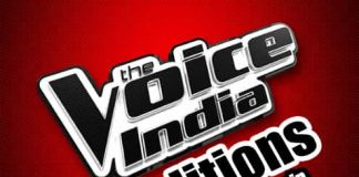 The Voice India audition form