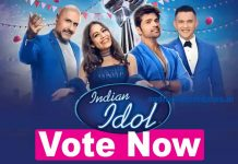 indian idol 12 voting online