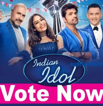 indian idol 12 voting online