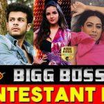 Bigg Boss 14 Contestants 2020