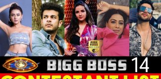 Bigg Boss 14 Contestants 2020