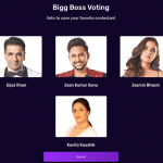 Bigg Boss 14 7th Week Vote