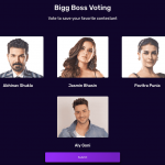 biggboss 14 8th week voting trends