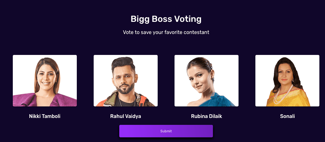 bigg boss 14 voting for 14th week trends