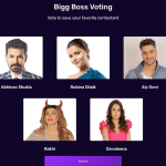 Bigg Boss 14 Vote for 17th week