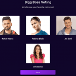 Bigg Boss Vote trend this 18th week