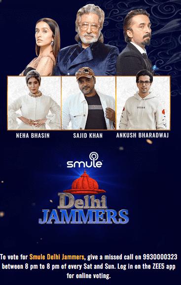 IPML Delhi Jammers Voting