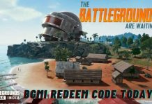 BGMI Redeem Code
