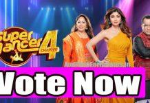 Super Dancer 4 voting