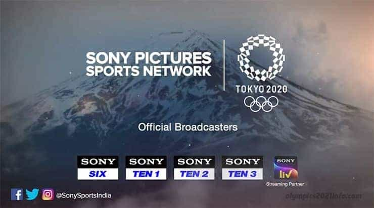 Olympics 2021 live Sonyliv