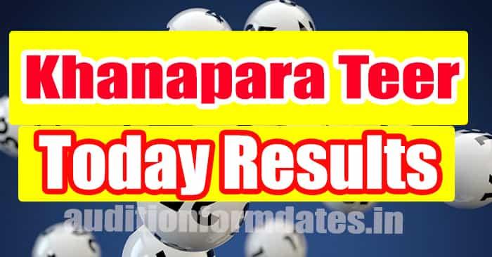 Khanapara Teer Result Today
